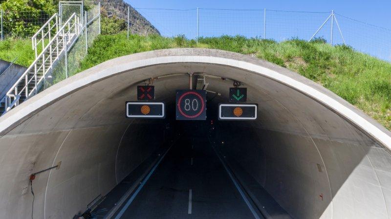 Le tunnel de Gamsen restera fermé au trafic durant trois nuits, du 27 au 30 septembre prochains.