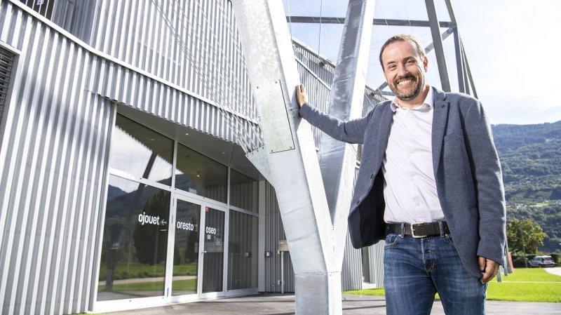 Sion: un an après son déménagement, l'OSEO fête l'inauguration de son nouveau bâtiment