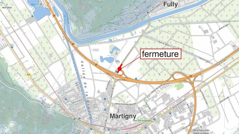 La jonction Martigny-Fully fermée cinq nuits pour cause de travaux
