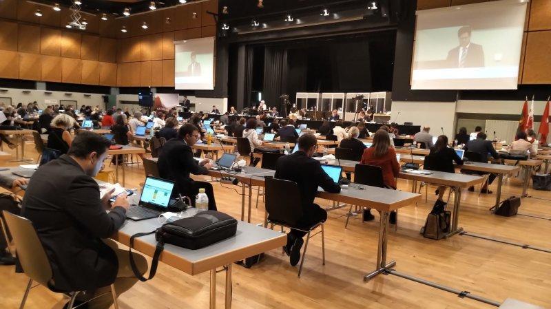 Le Grand Conseil siège à Brigue, peut-être pour la dernière fois.