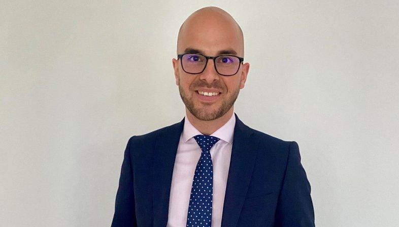 Guillaume Carron, directeur-adjoint de la Banque Raiffeisen Martigny et Région