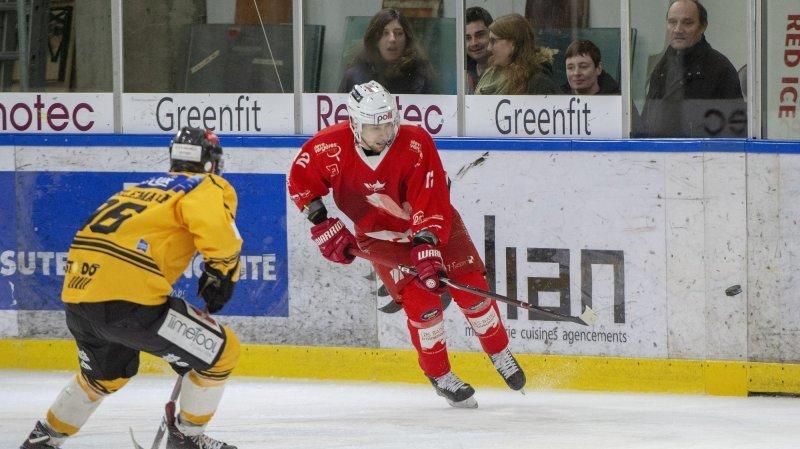 Hockey: sur la glace, le HCV Martigny peut toujours jouer les premiers rôles