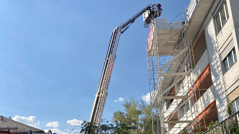 Les pompiers de la capitale sont intervenus pour stopper l'incendie.