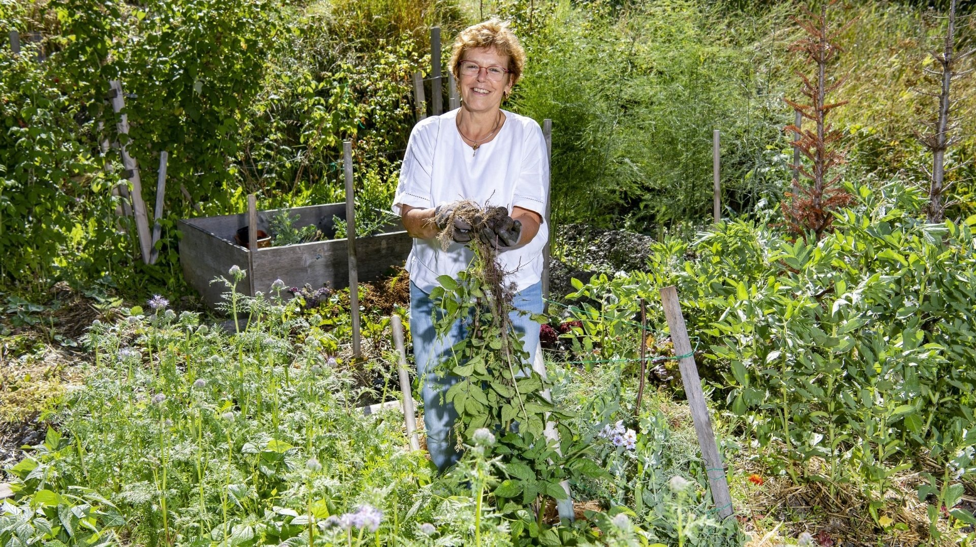 Une Evolénarde cultive l'art de jardiner sans jamais cesser de s'émerveiller