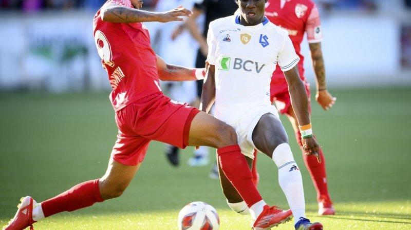 Football: Lausanne et Sion se neutralisent, Servette écrase Saint-Gall
