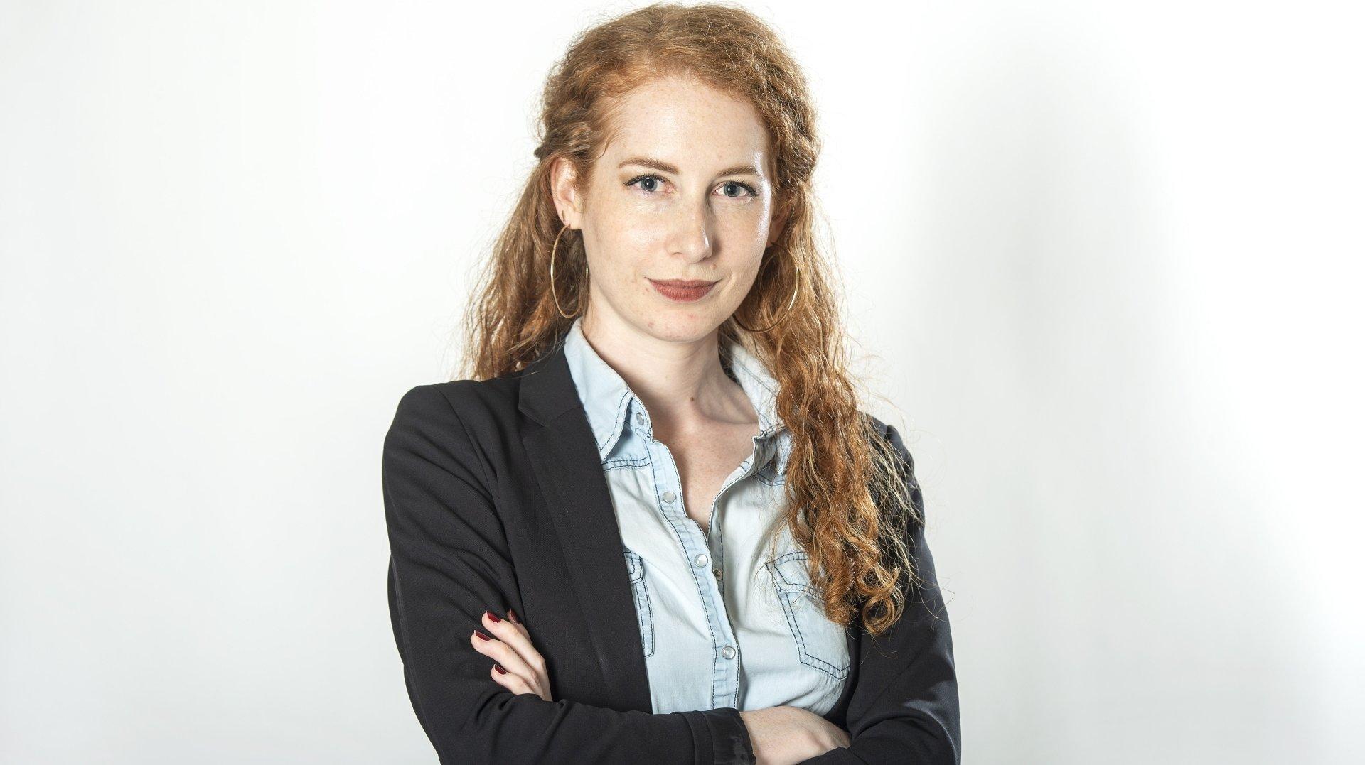 """Estelle Baur, journaliste """"Le Nouvelliste""""."""