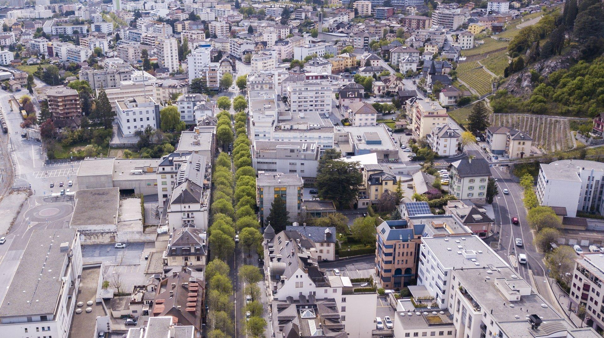 Sierre: l'avenue Général-Guisan sera fermée durant plusieurs nuits