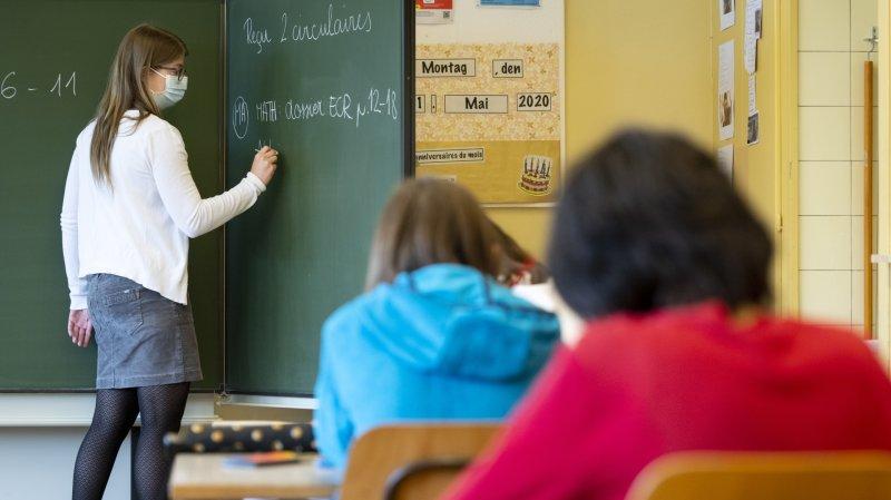 Masques à l'école, pas de discrimination selon le Parlement