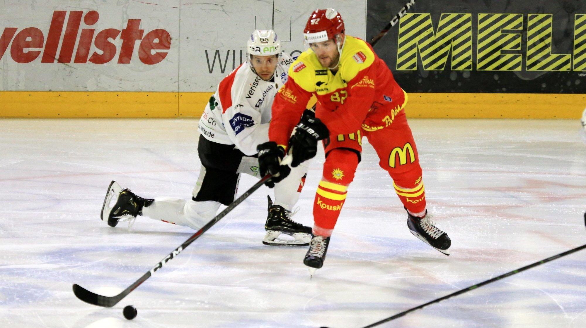 HC Sierre: Arnaud Montandon sera sur la glace face à Thurgovie