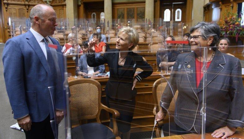 Droit de vote: la Berne fédérale a célébré sous la Coupole les 50 ans de suffrage féminin