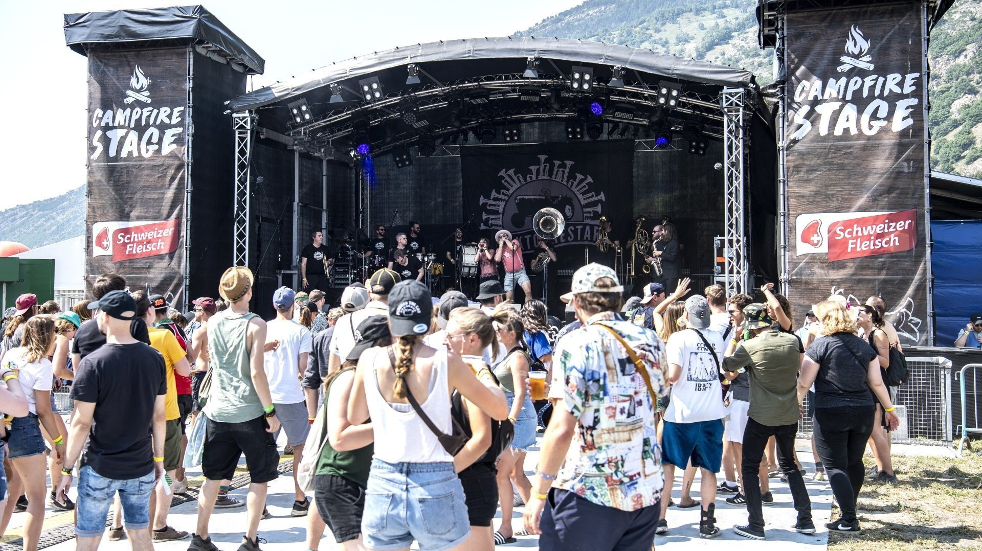 L'Openair de Gampel a accueilli 30 000 festivaliers en trois jours
