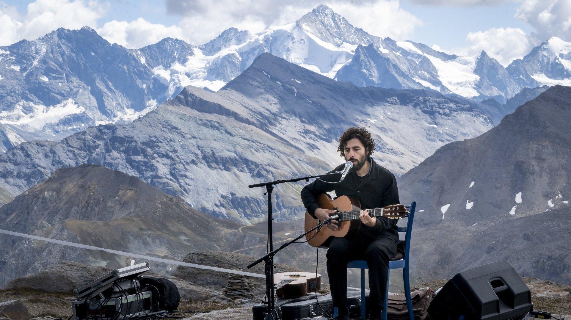 Palp Festival: un concert de José González à près de 3000 mètres