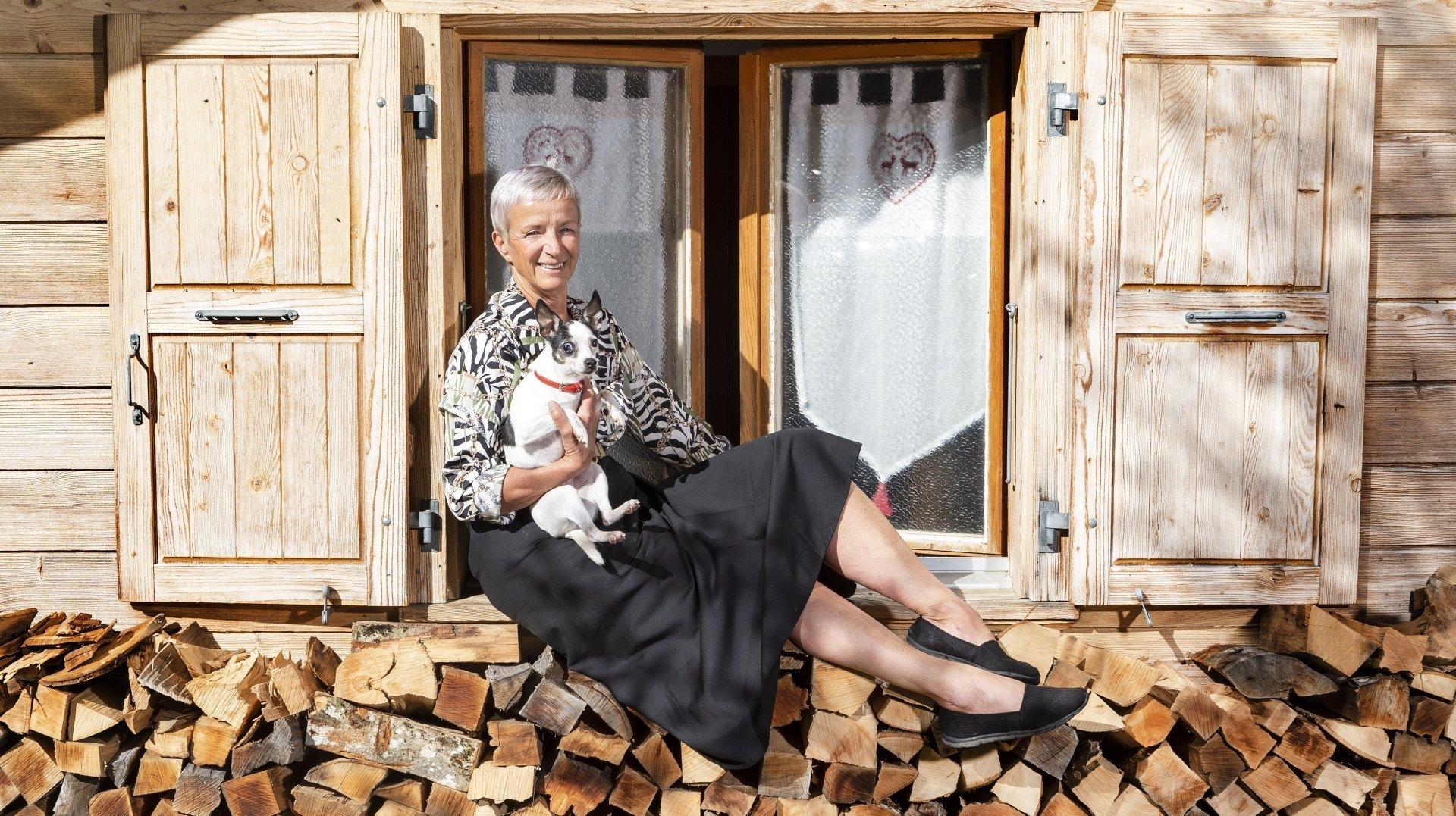 Candidate valaisanne de «L'amour est dans le pré», Paulette Deladoey se confie