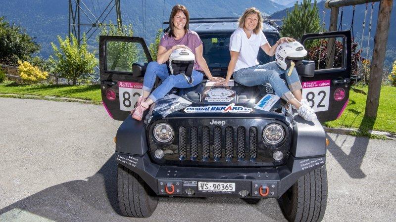 Entremont: deux Valaisannes vont participer au Trophée Rose des sables