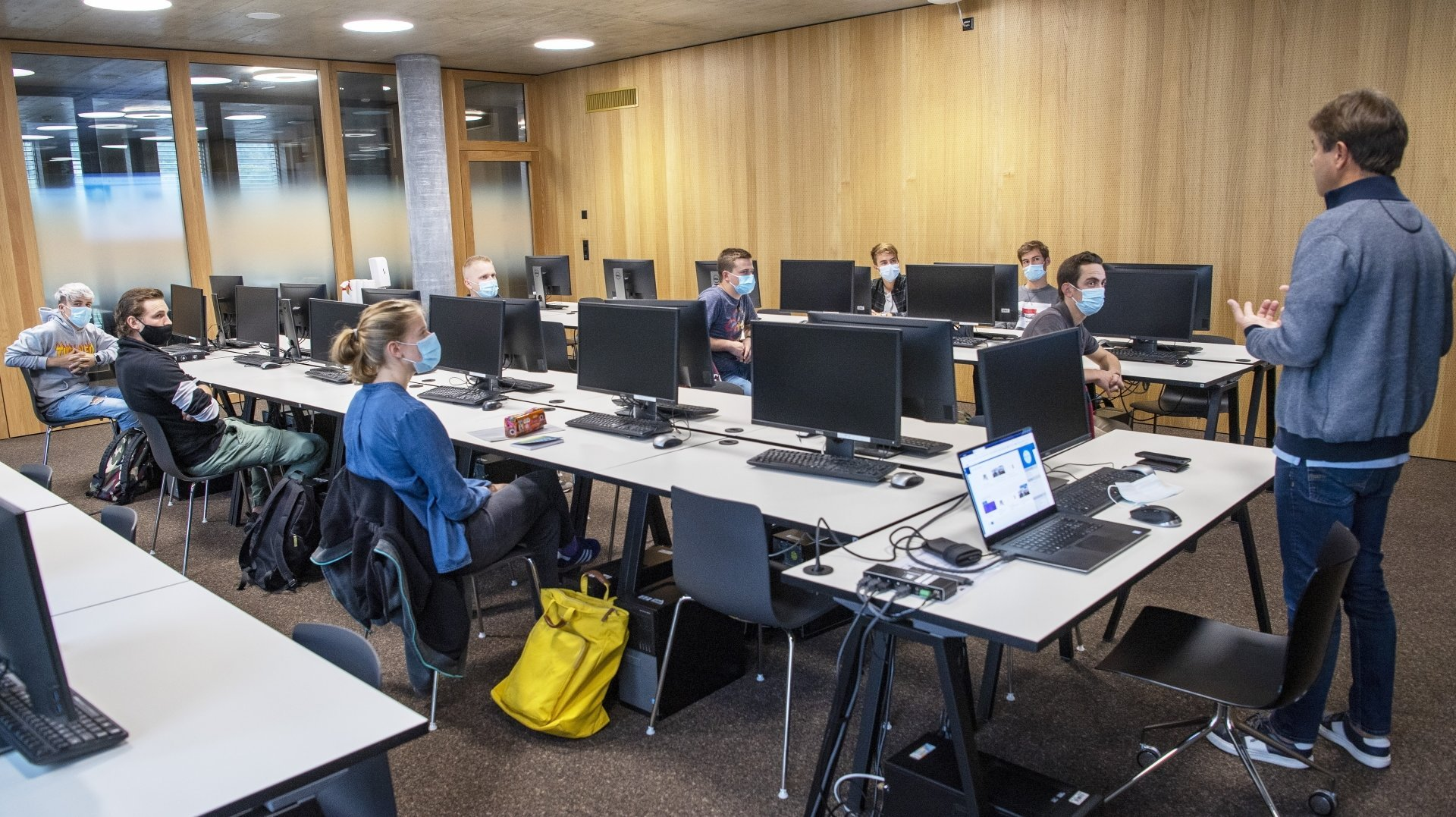 Sion: la HES-SO Valais-Wallis fait sa première rentrée sur le campus Energypolis