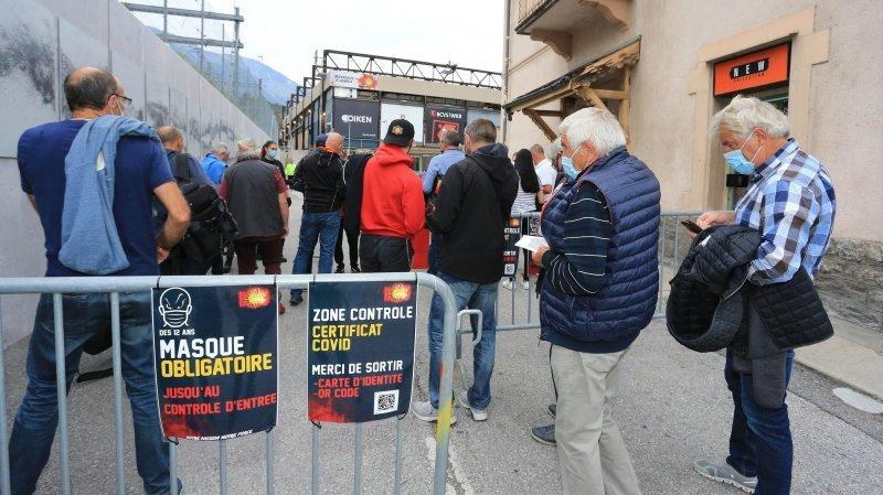 Hockey: Sierre et Viège ont perdu des supporters en raison du certificat sanitaire