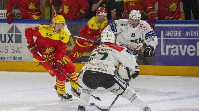 Hockey: Sierre, cette fois, n'a rien à se reprocher