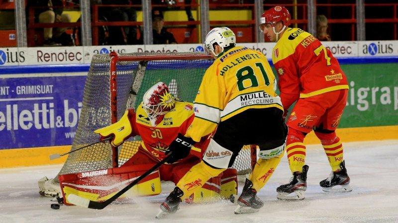 Hockey: Sierre ne s'est jamais remis de son début de match