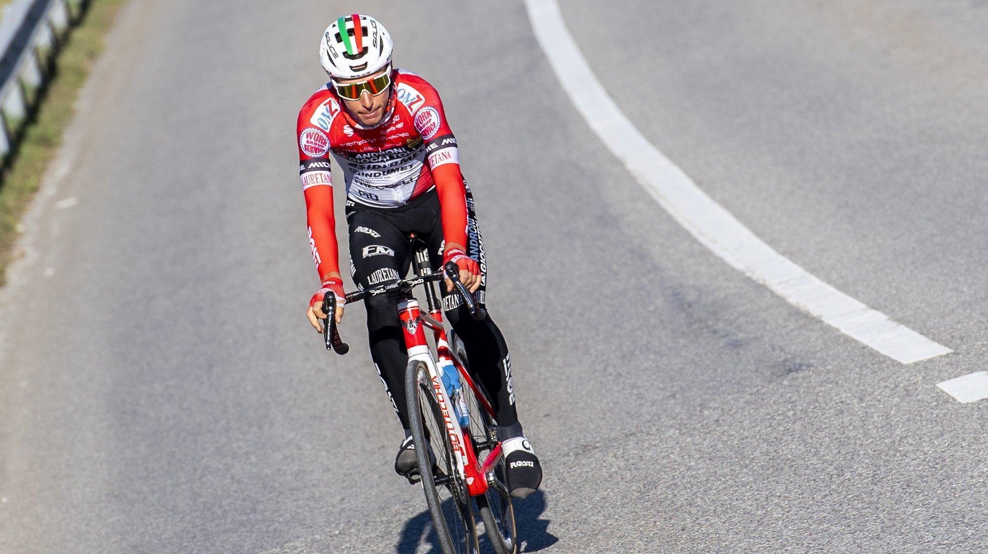 Simon Pellaud a tenu à remonter sur le vélo au plus vite.