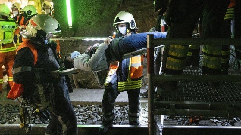 Le scénario veut tester les plans d'intervention des services de secours des CFF ainsi que des polices tant du côté valaisan du tunnel que du côté italien.