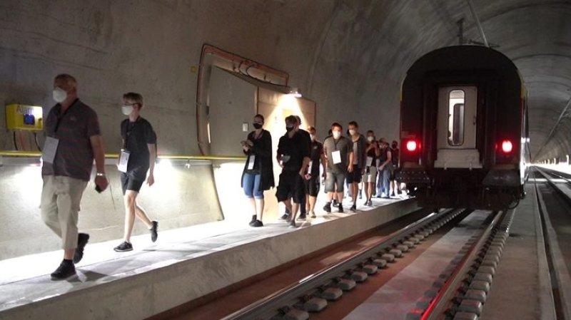 Le tunnel du Simplon fermé pour un spectaculaire exercice de sauvetage