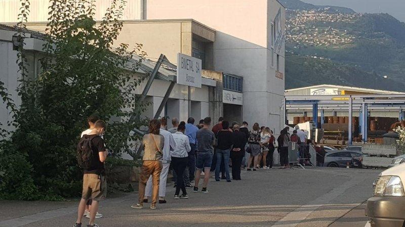Les demandes de vaccination anti-Covid explosent en Valais