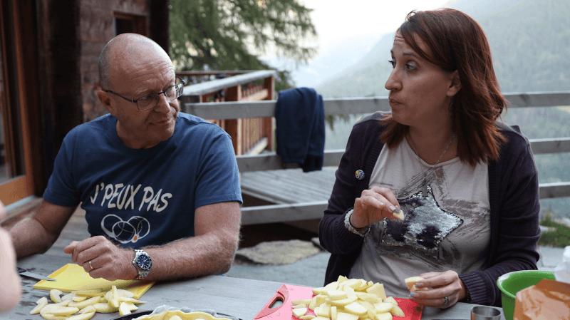 Mariage pour tous: Jean-Luc Addor et Cindy Giroud confrontent leurs points de vue au mayen en vidéo