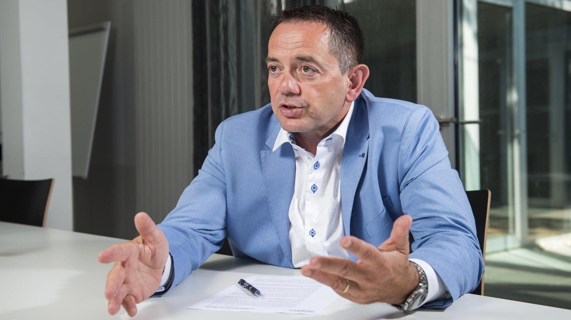 «Ne pas faire la Foire en 2021 l'aurait mise en danger» L'interview de Vincent Claivaz, président du comité d'organisation