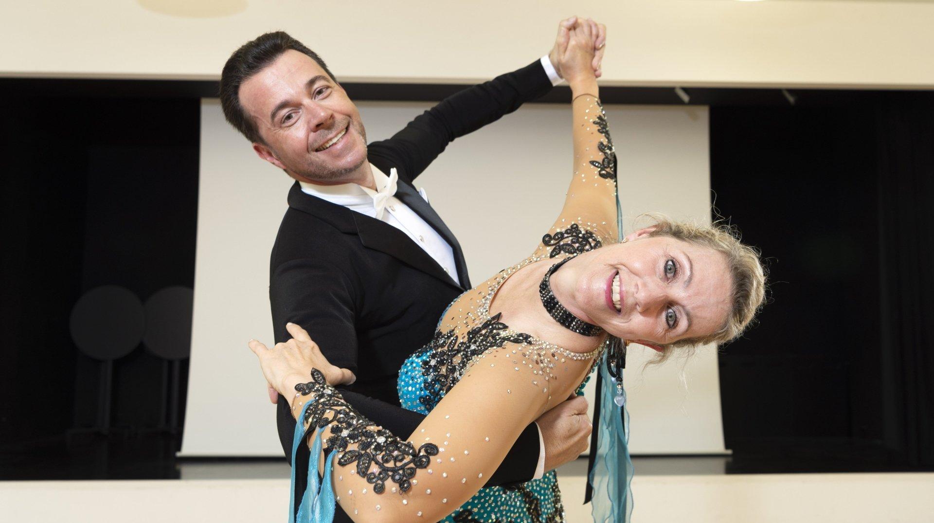 Sierre: champions suisses de danse de salon, les Vogel espèrent démocratiser cette discipline en Valais