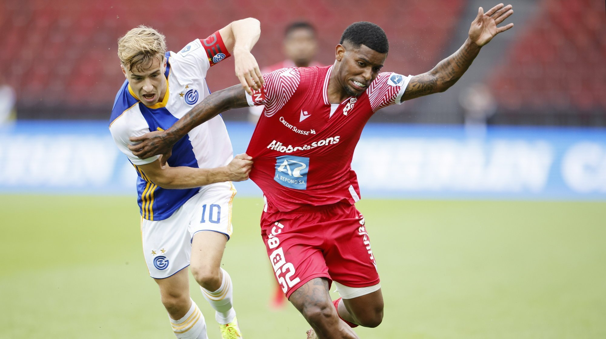 FC Sion: les notes du match contre Grasshopper