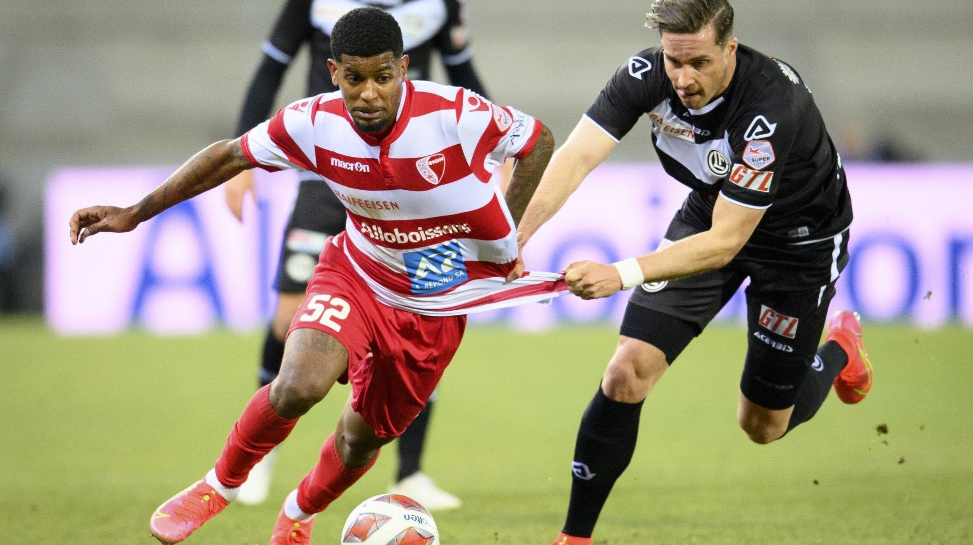 Wesley avait déjà porté les couleurs du FC Sion lors du deuxième tour la saison dernière.