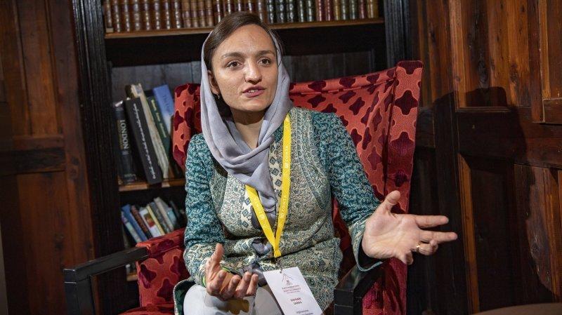 De passage en Valais, Zarifa Ghafari se confie: «Je ne dirais pas que je suis courageuse. J'essaie juste d'être un être humain décent.»