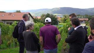 Le groupe parlementaire PS en excursion à Estavayer-le-lac