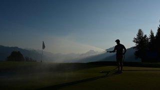 Lumière sur l'Omega European Masters de golf à Crans-Montana