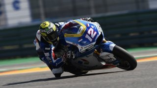 Motocyclisme - GP d'Aragon: Thomas Lüthi chute