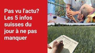 Les 5 infos à retenir dans l'actu suisse de ce vendredi 3 septembre