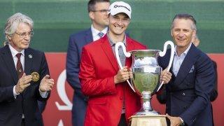 Vainqueur de l'Omega European Masters, Rasmus Højgaard entre à nouveau dans l'histoire