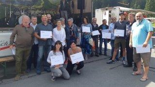 Morgins: un don de 61 000 francs aux sociétés locales