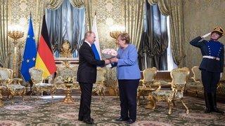 Russie: Angela Merkel à Moscou pour faire ses adieux à Poutine