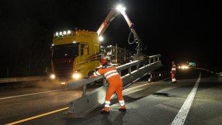 L'autoroute A9 va fermer pendant deux nuits entre Martigny et Sion