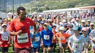 Athlétisme: Tadesse Abraham, un coach très particulier à Sierre