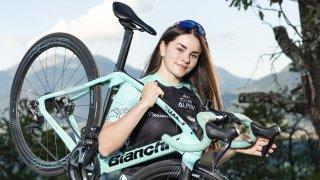 Cyclisme: Anaëlle Gaillard ne veut pas redescendre de son petit nuage