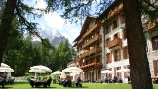 Le Grand Hôtel&Kurhaus d'Arolla réunit les amoureux de la montagne