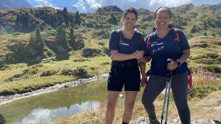 Après un cancer, des Valaisannes ont réussi leur aventure humaine en montagne