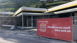 Burger King va ouvrir un restaurant à Sierre