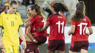Football: Les Suissesses cartonnent en Moldavie