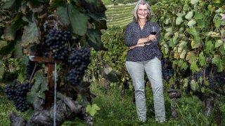 Isabelle Ançay, la vigneronne qui regarde vers la lune
