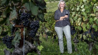 Fully: Isabelle Ançay, la vigneronne qui regarde vers la lune