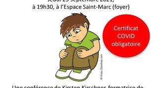 Conférence « Les crises des enfants, pourquoi ? »