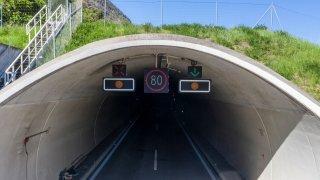 Haut-Valais: fermetures nocturnes de plusieurs tunnels en vue sur la A9 et la A6
